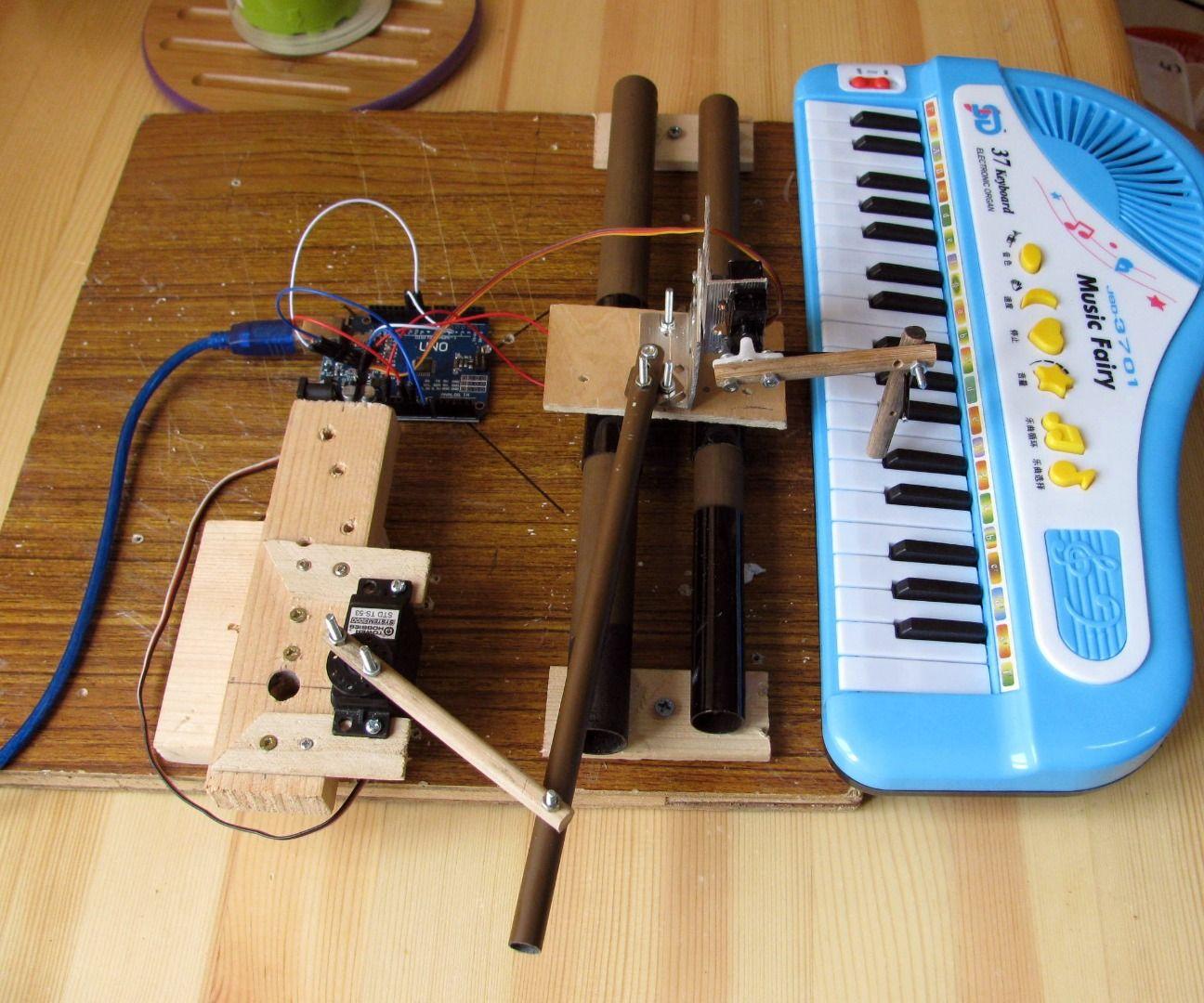 Robotic Piano Player