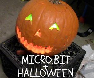 Halloween + Micro:bit
