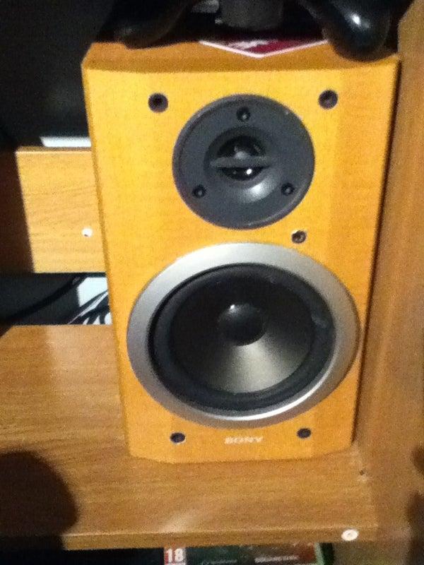 Speaker Stash/compartment