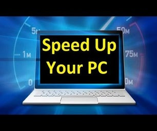 Speed Up Your Windows 10,8,7!!