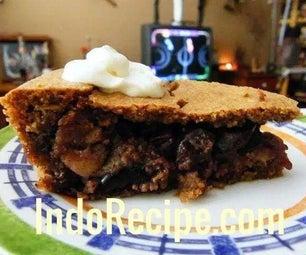 Black Cherry Walnut Pie