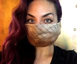 Washable No-Sew Mask