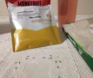 Watermelon Cooler Iced Tea With Monk Fruit Sweetener