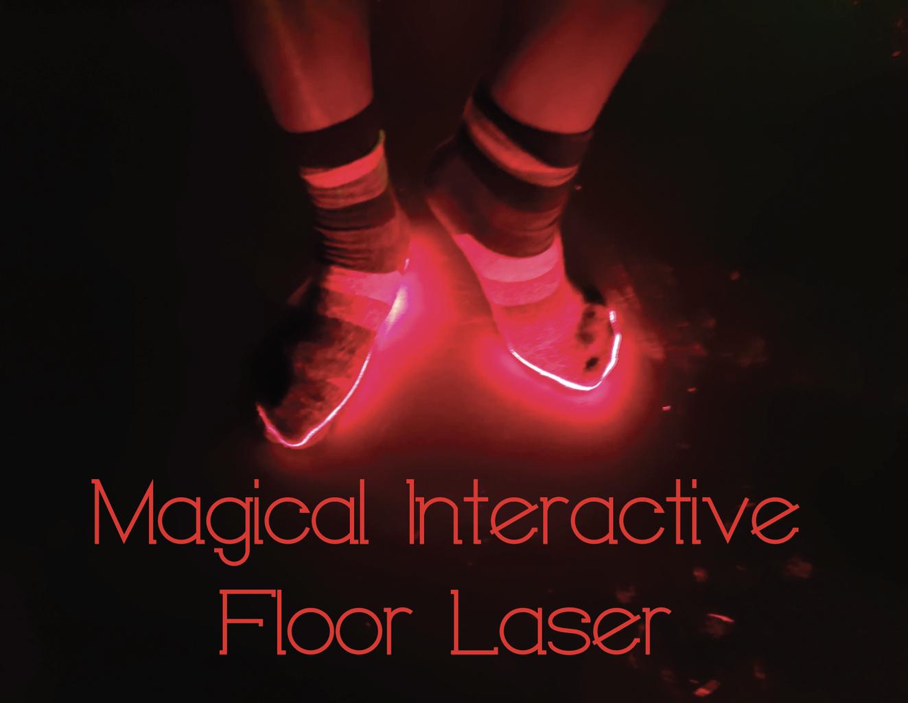 "Magical ""Interactive"" Floor Light"