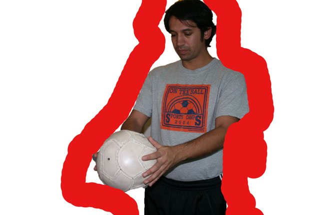 HOtw to juggle a Soccer ball