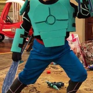 "How to Make a Big Hero 6: ""Wasabi"" Costume"