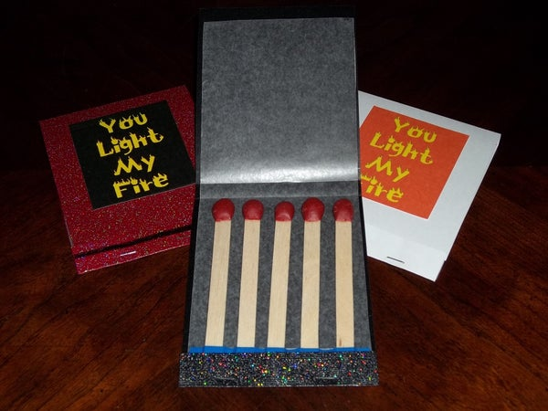 Light My Fire Candy Matchbooks