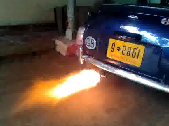 Exhaust Flame Thrower Kit For Car or Bike