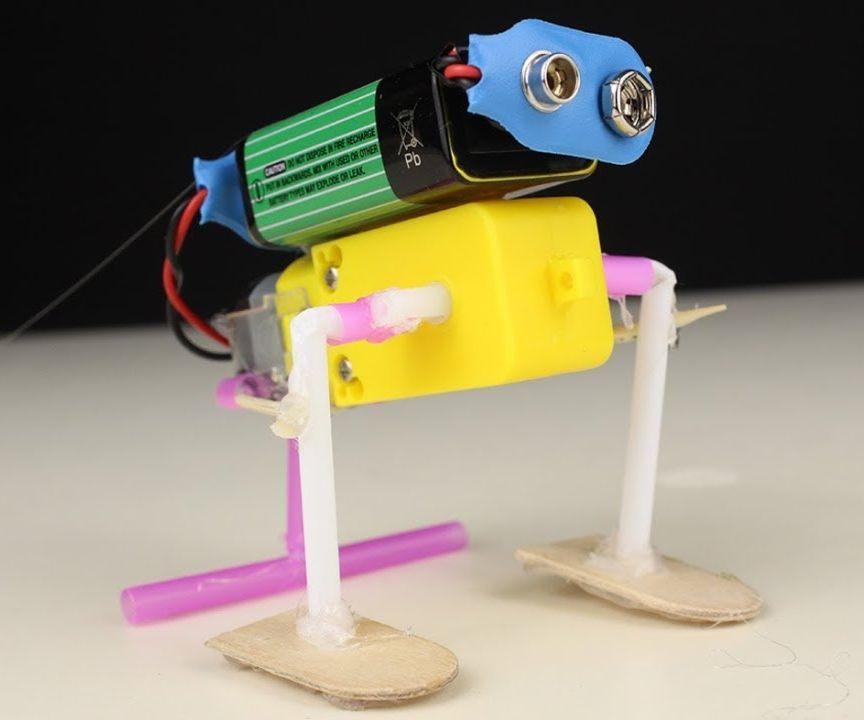 How to Make Cute Walking Robot