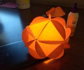 Mathematically Perfect Spherical Lantern