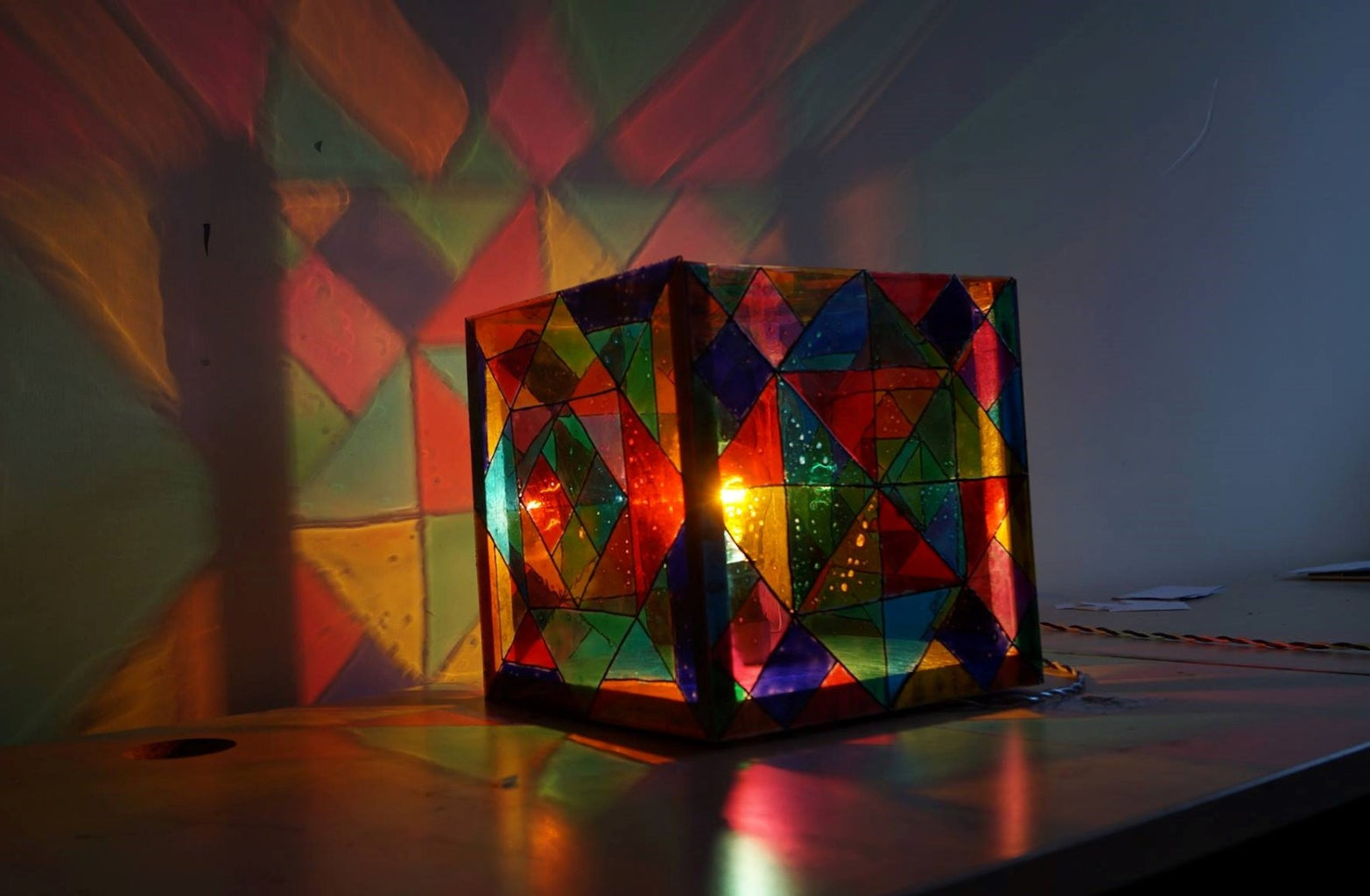 Decorative Glass Lamp