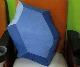 Legend of Zelda Rupee Pillow