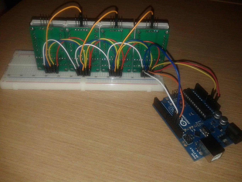 Wiring of Arduino