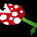 How to Crochet a Giant Mario Piranha Plant