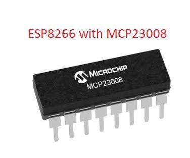 NODEMCU LUA MCP23008 8 Bit Port Expander IC