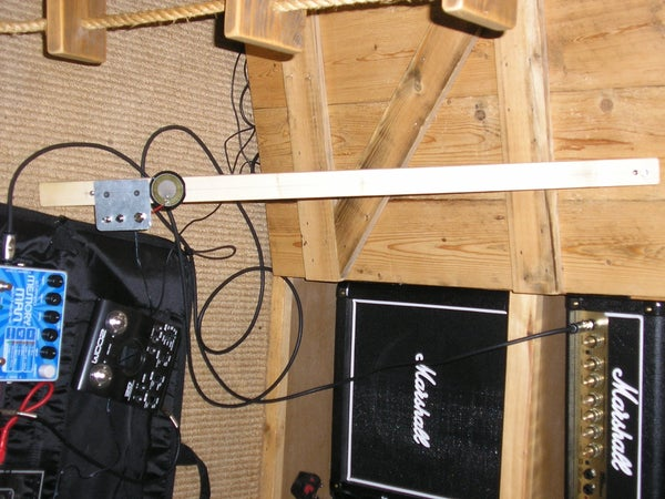 My Electric Stick Bass (but With a G-string)