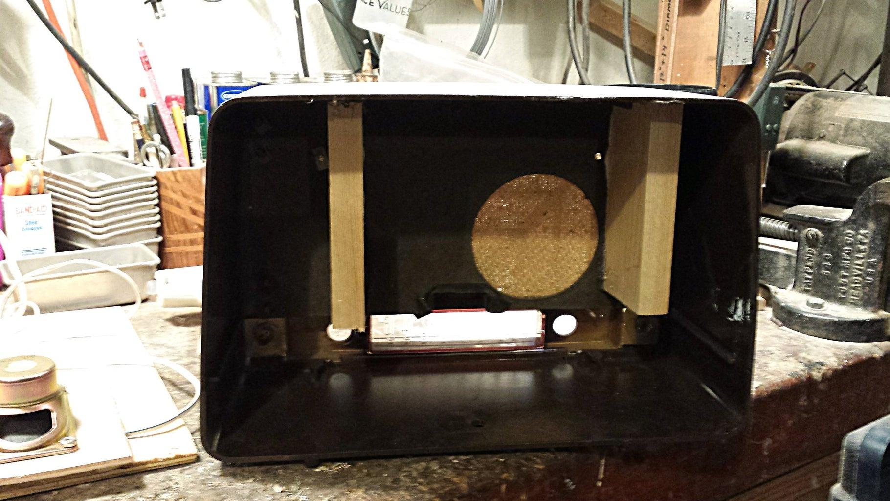 Prepare the Inside of the Radio Housing