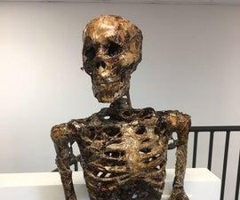 Escape Room Props - Decomposing Skeleton