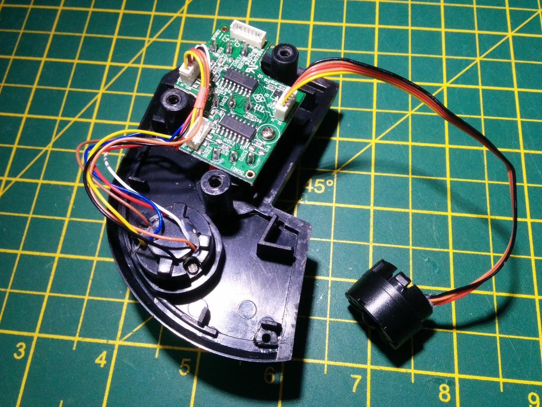 Thrustmaster Warthog Slew Sensor I2C Upgrade