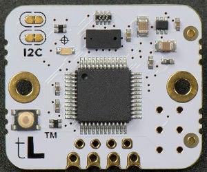CircuitPython and TinyLiDAR: Simple Example