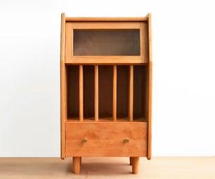 DIY Bookshelf Cabinet