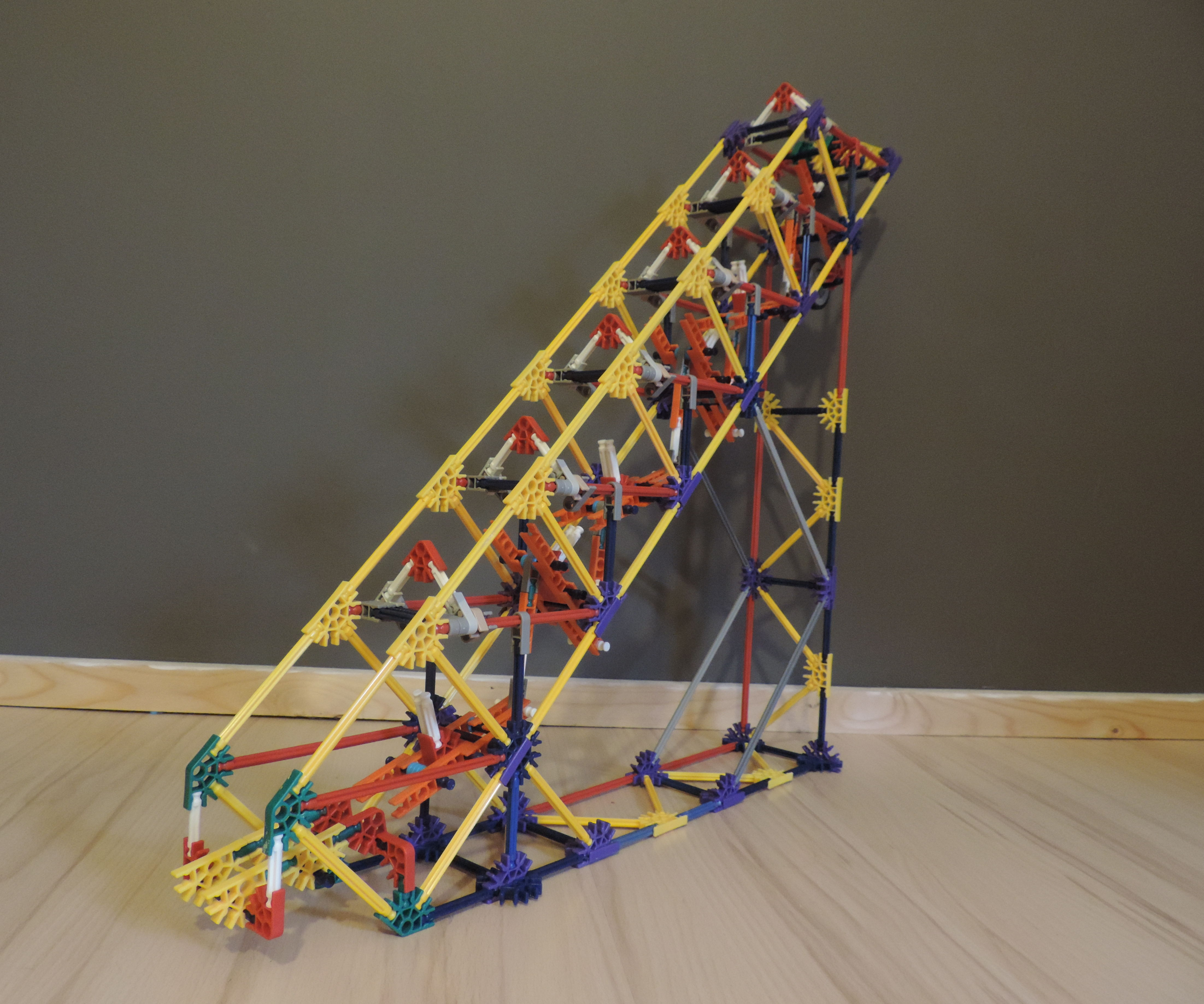 Knex Ball Machine Element: Domino Stairs
