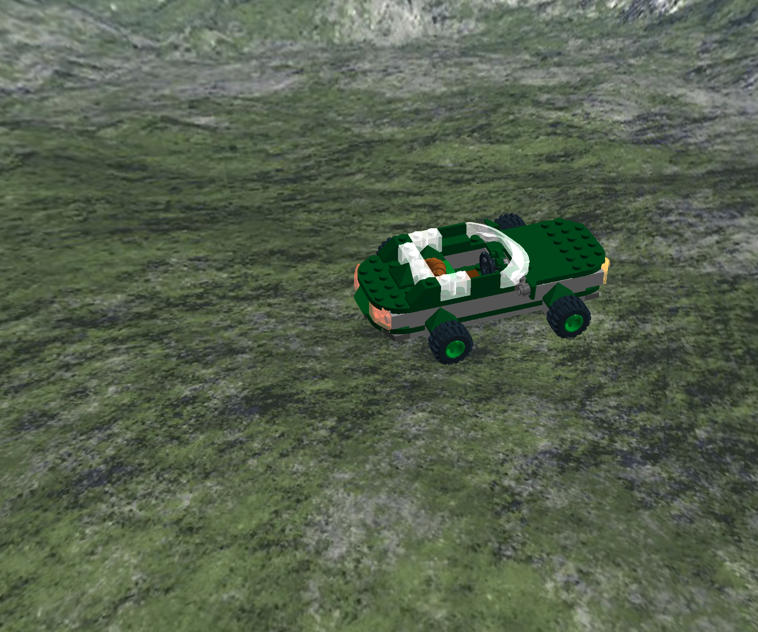 Lego Green Car