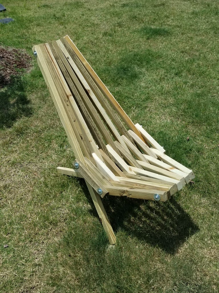 Build a Stick Chair in 1 Hour!!