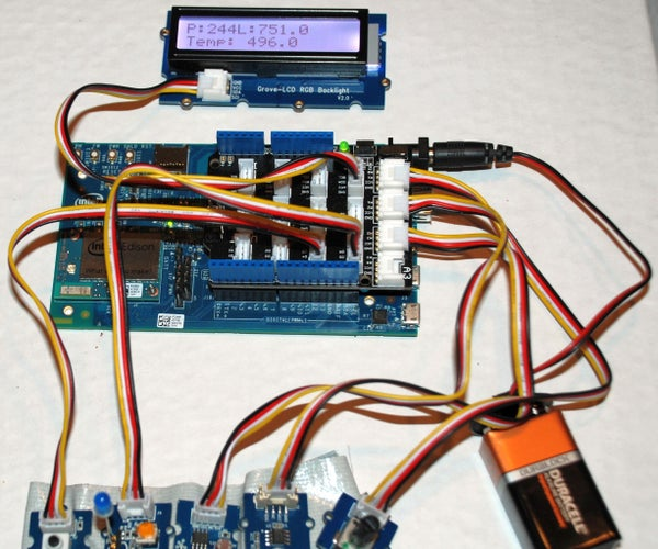 Controlling Edison With Python