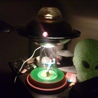 Alien Abduction Lamp