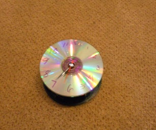 CD Clock Instructable WORKS!!!