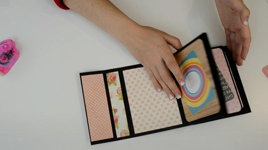 Making the Album Pages: Decorating the Pages