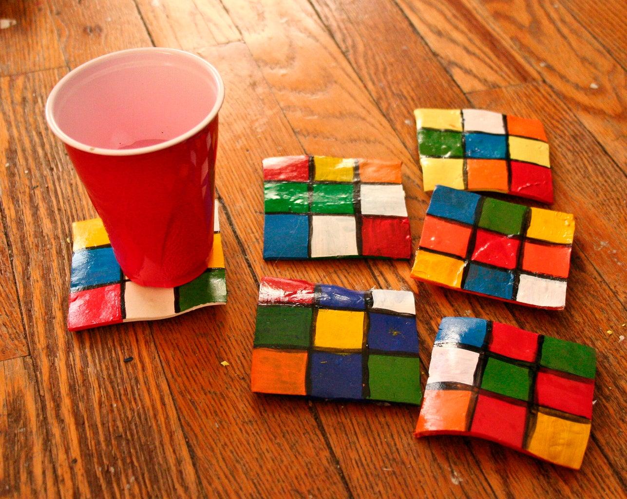 Rubix Coasters