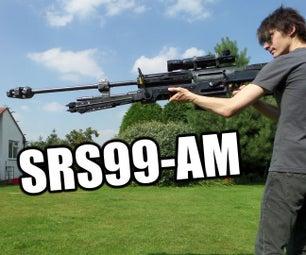 Wooden Halo Reach Replica Rifle (Non-firing Prop)