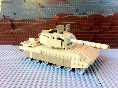 Make a LEGO Abrams Tank