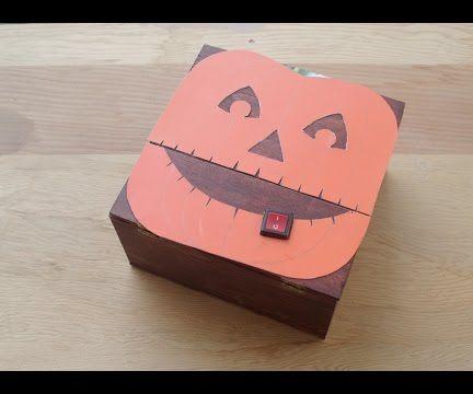 Useless Machine in the Pumpkin Mask