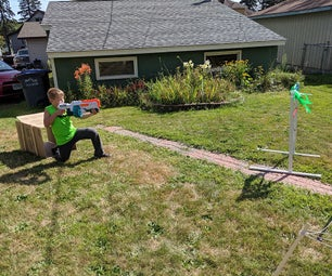 Nerf Gun Obstacle Course