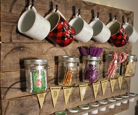 Coffee/Tea Pallet Drink Station