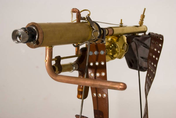 Steampunk Ray Gun and Costume