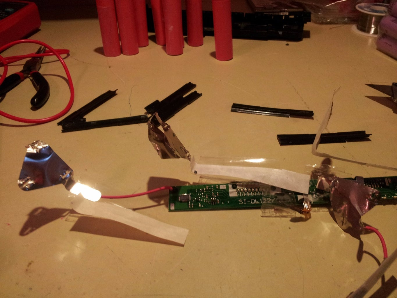 Removing the Old Batteries
