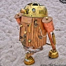 STEAMPUNK R2D2 Starwars Astromech
