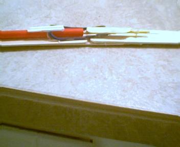 mini rubber-band cannon