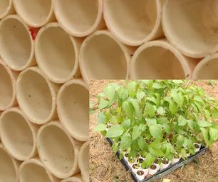 Honeycomb PVC Planters