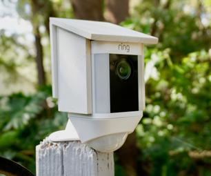 DIY鸟屋盖为安全摄像头