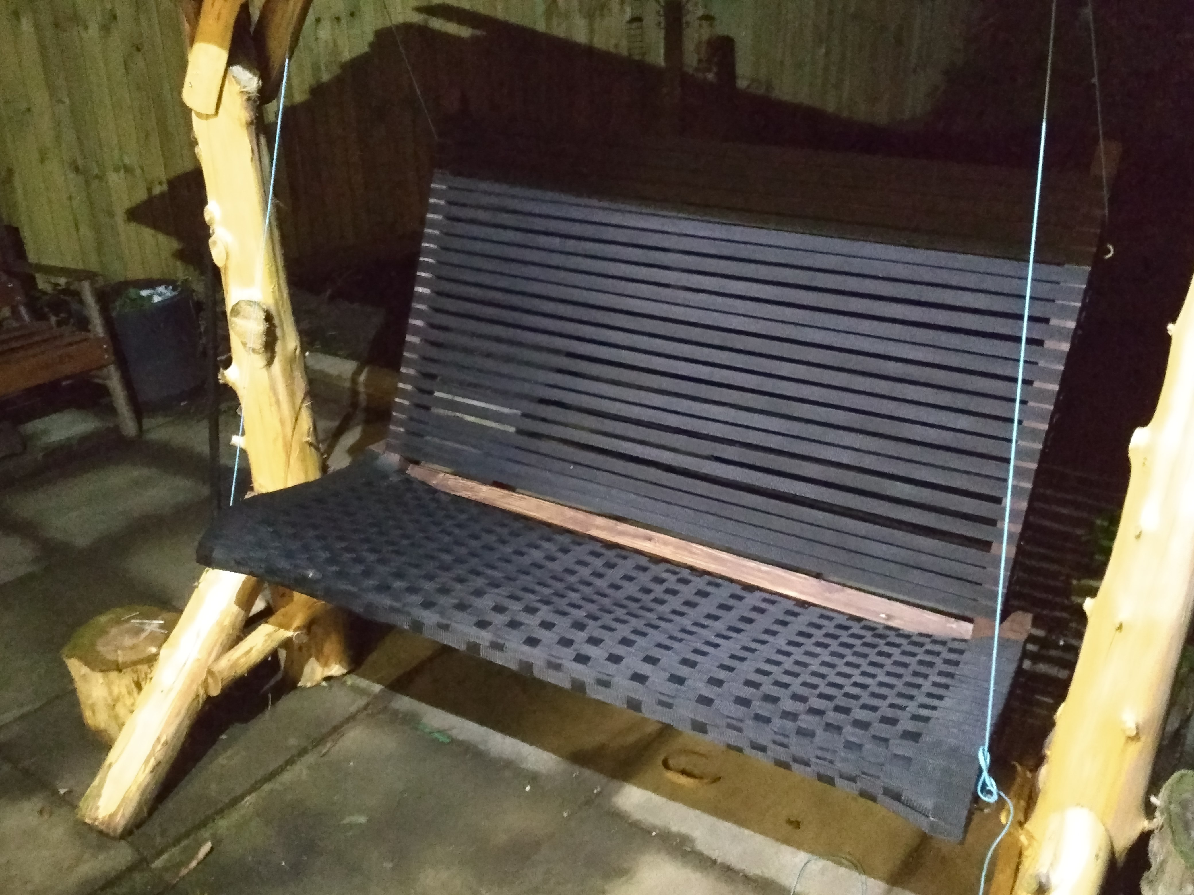 Picture of: Rustic Wooden Swing Chair 5 Steps With Pictures Instructables