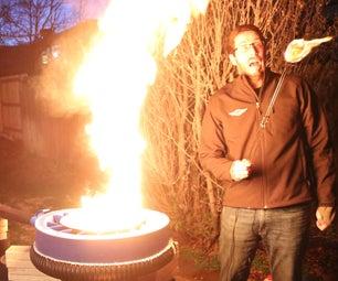 4 Ways to Make Fire Tornadoes (DIY Giant Bladeless Fan)