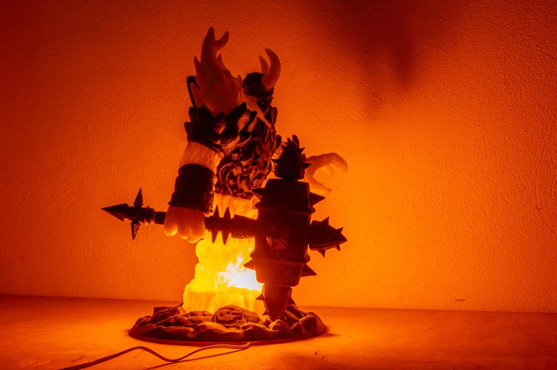 Ragnaros the Firelord Lamp