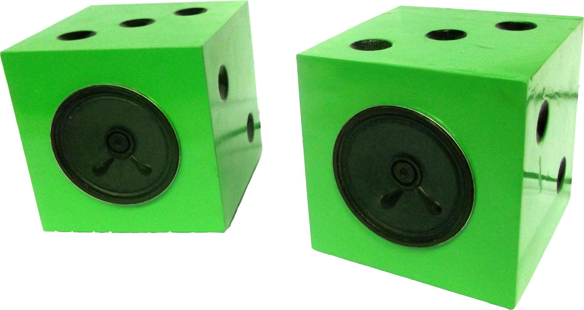 Cool Dice Speakers.