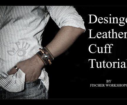 Designer Leather Cuff Tutorial