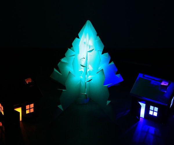 Glowing Christmas Tree Hack